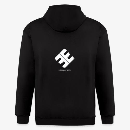 Everybody Eats Official Logo - Men's Zip Hoodie