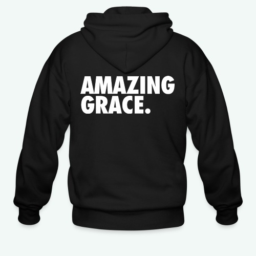 AMAZING GRACE - Men's Zip Hoodie