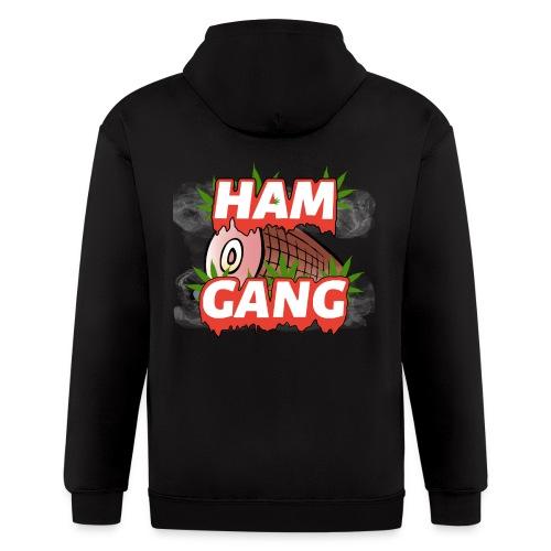 HAM GANG REPPIN - Men's Zip Hoodie