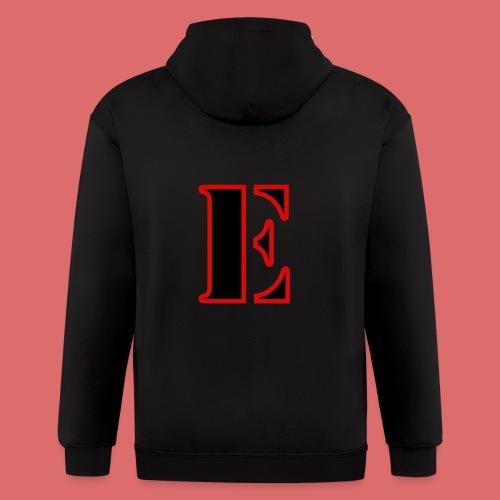 E Logo - Men's Zip Hoodie