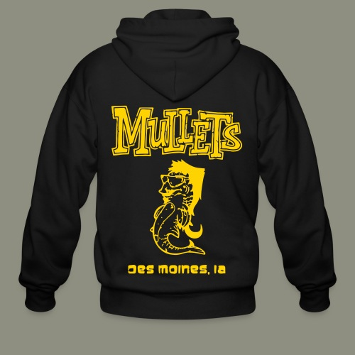 Mullets Color Series - Men's Zip Hoodie