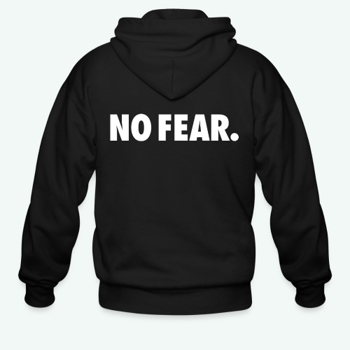 NO FEAR - Men's Zip Hoodie