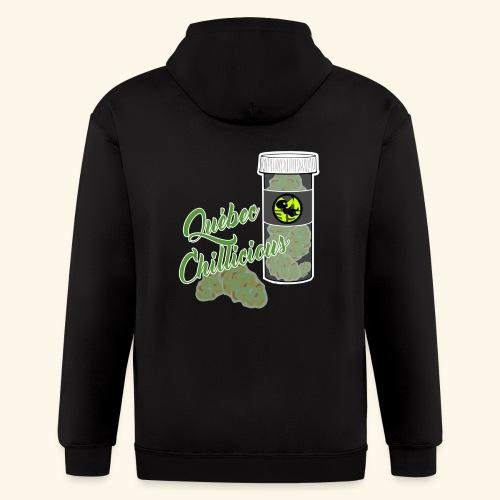 M39 Cannabis tshirt Québec Chillicious - Men's Zip Hoodie