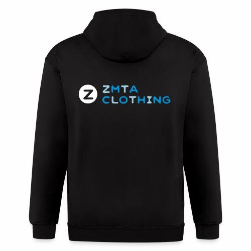 ZMTA logo products - Men's Zip Hoodie