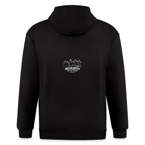 SingleVolunteers - Men's Zip Hoodie
