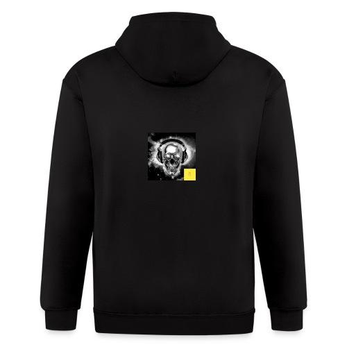 skull - Men's Zip Hoodie