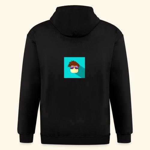 NixVidz Youtube logo - Men's Zip Hoodie