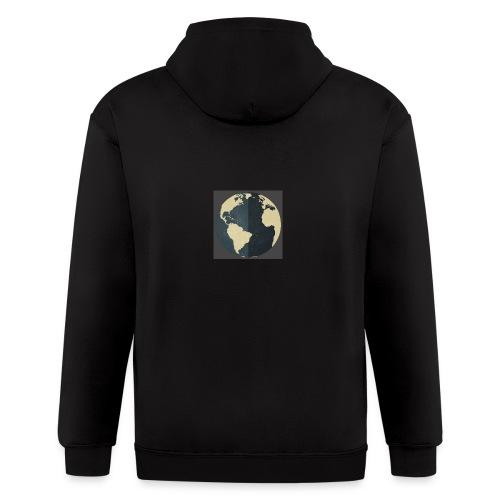 The world as one - Men's Zip Hoodie