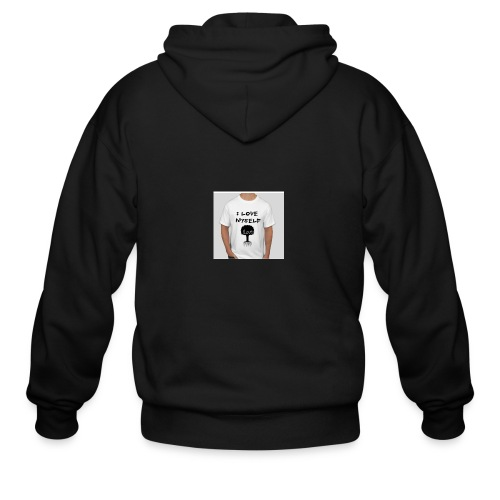 love myself - Men's Zip Hoodie