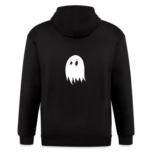 Classic Booky Ghost - Men's Zip Hoodie
