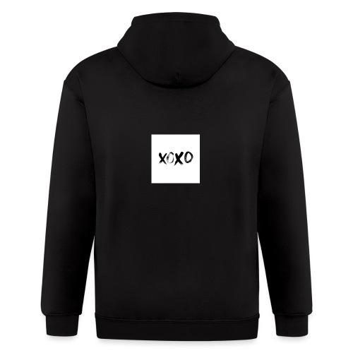 xoxo - Men's Zip Hoodie