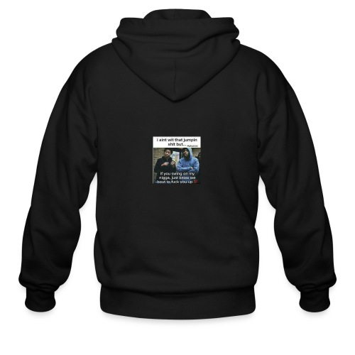 Friends down for friends - Men's Zip Hoodie