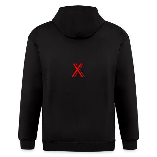 2018 GAMER-X-1ST Logo - Men's Zip Hoodie