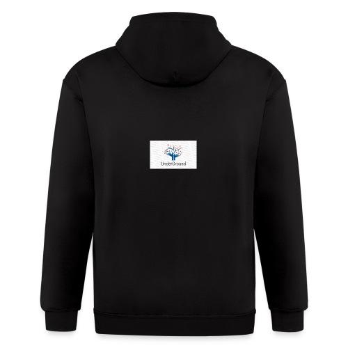 Charity Logo - Men's Zip Hoodie