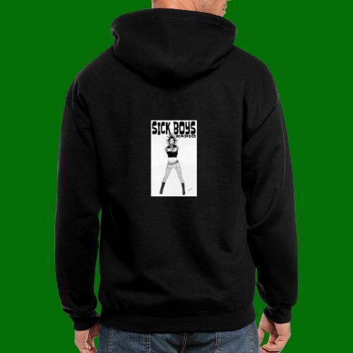 Sick Boys Girl2 - Men's Zip Hoodie