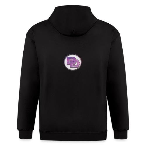 DerpDagg Logo - Men's Zip Hoodie