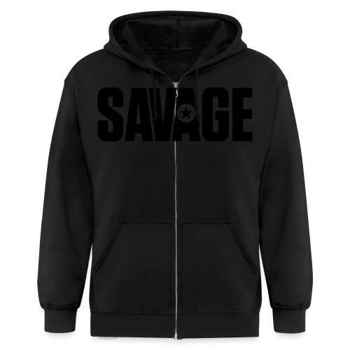 SAVAGE - Men's Zip Hoodie