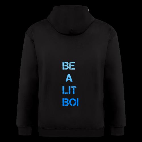 BE A LIT BOI Special - Men's Zip Hoodie