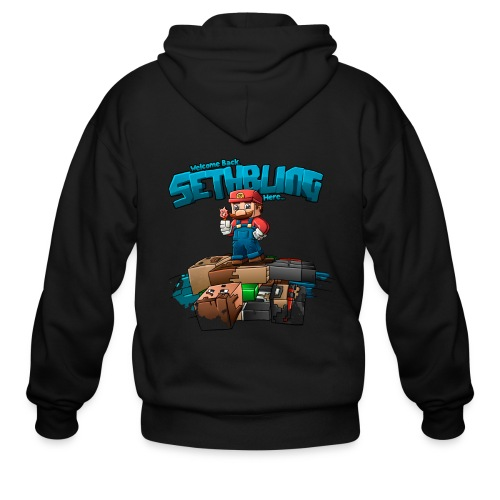 Sethbling Fixed png - Men's Zip Hoodie