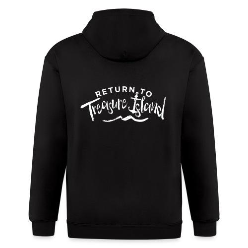 Return To Treasure Island - Men's Zip Hoodie