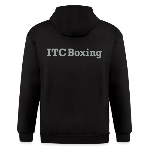 itcboxingwhite - Men's Zip Hoodie