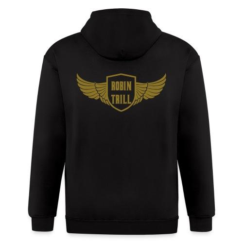 Robin Trill Wingz - Men's Zip Hoodie