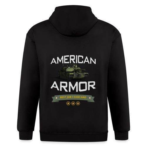 American Armor Best Job I Ever Had - Men's Zip Hoodie