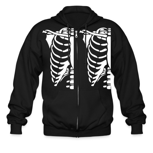 Skeleton Halloween Costume Hoodies - Men's Zip Hoodie