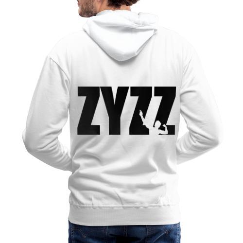 Zyzz text - Men's Premium Hoodie