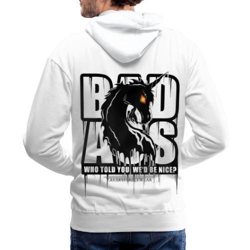 Bad Ass Unicorn - Men's Premium Hoodie