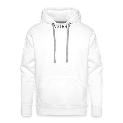 Voter Two-Toned Shirt - Men's Premium Hoodie