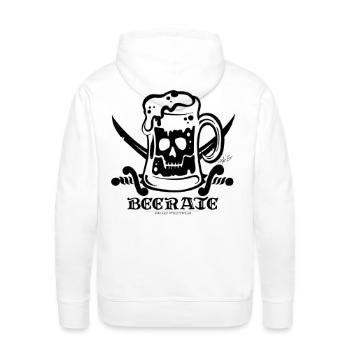 Beerate - black - Men's Premium Hoodie