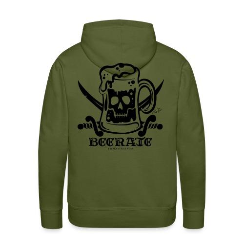 Beerate - black - Men's Premium Hoodie