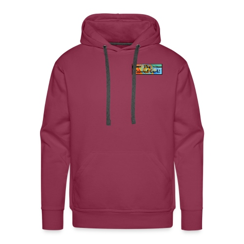 new Headerlogo brush and - Men's Premium Hoodie