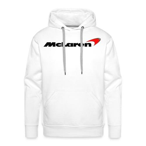 mclaren logo png - Men's Premium Hoodie