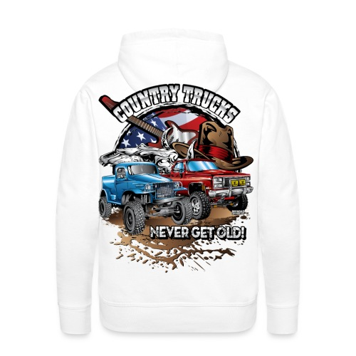 Country Off-Road Trucks - Men's Premium Hoodie