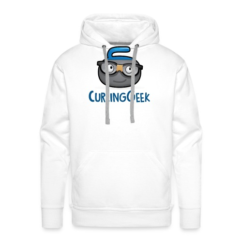 Curling Geek Graphic tshi - Men's Premium Hoodie