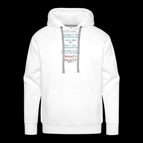 Survived... Whats Next? - Men's Premium Hoodie