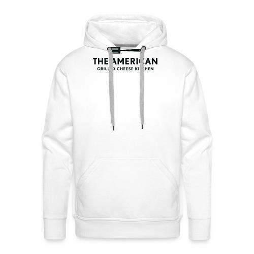 TAGCK Ringer Shirt-White/Black - Men's Premium Hoodie