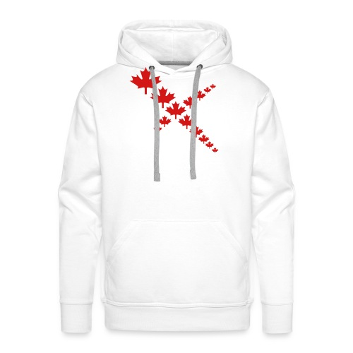 Maple Leafs Cross - Men's Premium Hoodie