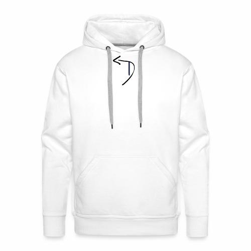 Womens Detour Logo T-Shirt (Front and Back) - Men's Premium Hoodie
