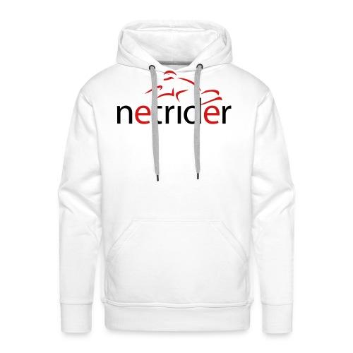 Netrider Logo - Men's Premium Hoodie