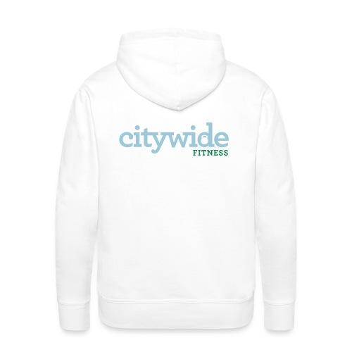 Citywide Logo text cmyk - Men's Premium Hoodie