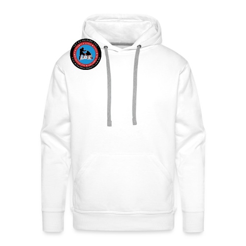 THE ACADEMY Logo MIXED MARTIAL ARTS png - Men's Premium Hoodie