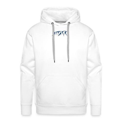 The attackers logo - Men's Premium Hoodie
