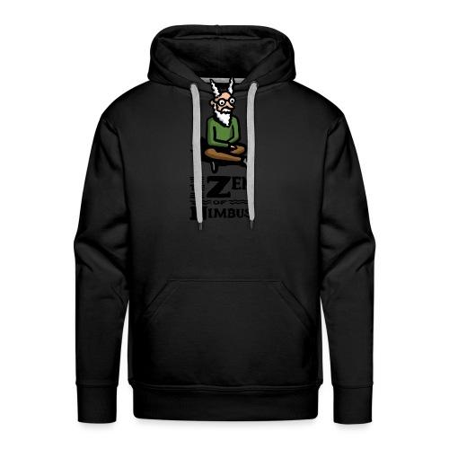 Nimbus character in color and logo vertical - Men's Premium Hoodie