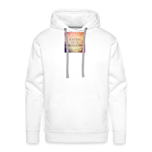 not perfect - Men's Premium Hoodie