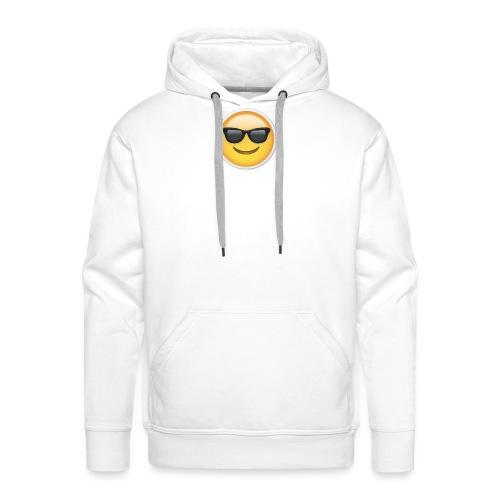 sunglasses emojicon mug & phone case - Men's Premium Hoodie