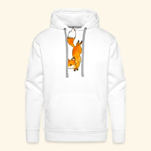 Space Fox - Men's Premium Hoodie