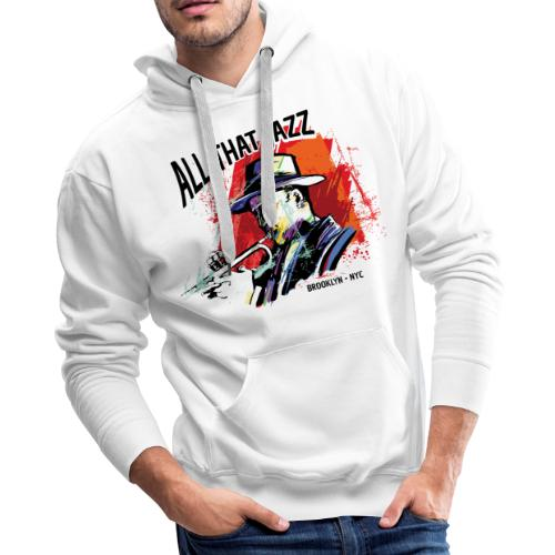 jazz music live club - Men's Premium Hoodie